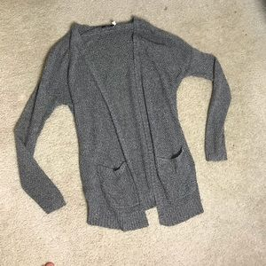 Grey urban outfitters cardigan